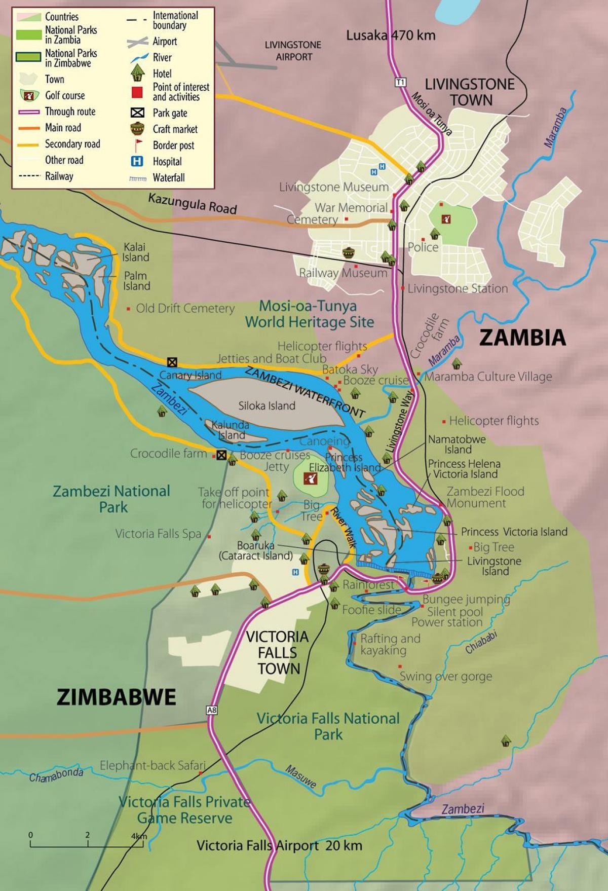 A Viktoria Vizeses Zambia Terkep Terkep A Viktoria Vizeses